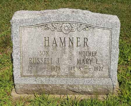 HAMNER, MARY L. - Trumbull County, Ohio | MARY L. HAMNER - Ohio Gravestone Photos