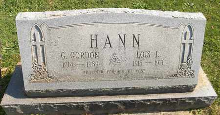 HANN, G. GORDON - Trumbull County, Ohio | G. GORDON HANN - Ohio Gravestone Photos