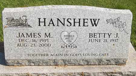 HANSHEW, JAMES M. - Trumbull County, Ohio | JAMES M. HANSHEW - Ohio Gravestone Photos