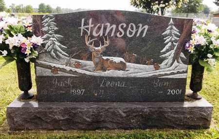 HANSON, JACK - Trumbull County, Ohio | JACK HANSON - Ohio Gravestone Photos