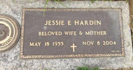 HARDIN, JESSIE E. - Trumbull County, Ohio | JESSIE E. HARDIN - Ohio Gravestone Photos