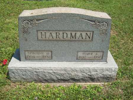 HARDMAN, DOROTHY M. - Trumbull County, Ohio | DOROTHY M. HARDMAN - Ohio Gravestone Photos