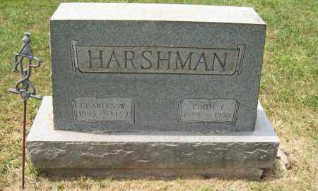 HARSHMAN, CHARLES W. - Trumbull County, Ohio | CHARLES W. HARSHMAN - Ohio Gravestone Photos