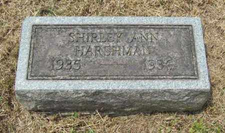 HARSHMAN, SHIRLEY ANN - Trumbull County, Ohio | SHIRLEY ANN HARSHMAN - Ohio Gravestone Photos