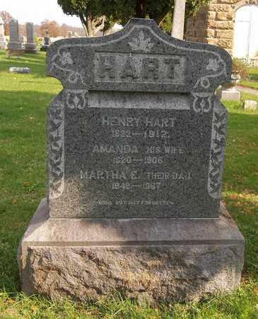 HART, AMANDA - Trumbull County, Ohio | AMANDA HART - Ohio Gravestone Photos