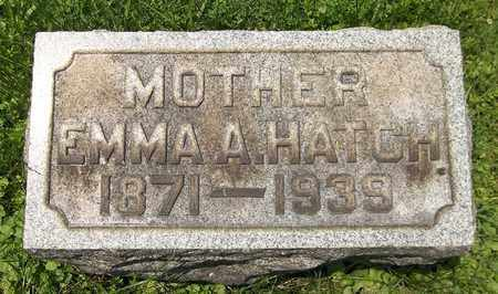 HATCH, EMMA AMELIA - Trumbull County, Ohio | EMMA AMELIA HATCH - Ohio Gravestone Photos