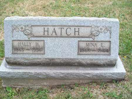 HATCH, HALLY HERBERT - Trumbull County, Ohio | HALLY HERBERT HATCH - Ohio Gravestone Photos