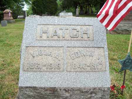 HATCH, EDWIN I. - Trumbull County, Ohio | EDWIN I. HATCH - Ohio Gravestone Photos