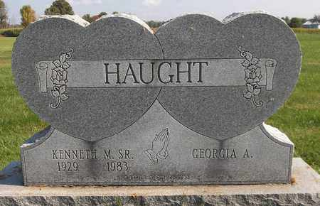 HAUGHT, GEORGIA A. - Trumbull County, Ohio | GEORGIA A. HAUGHT - Ohio Gravestone Photos