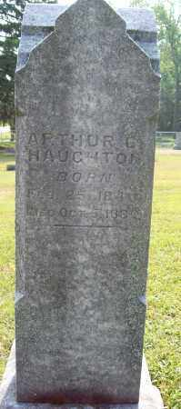 HAUGHTON, ARTHUR G. - Trumbull County, Ohio | ARTHUR G. HAUGHTON - Ohio Gravestone Photos