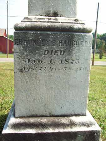 HAUGHTON, CHAUNCEY B. - Trumbull County, Ohio | CHAUNCEY B. HAUGHTON - Ohio Gravestone Photos
