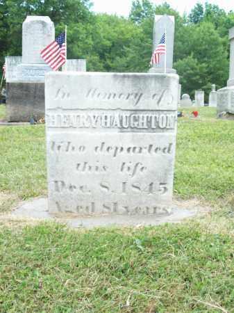 HAUGHTON, HENRY - Trumbull County, Ohio | HENRY HAUGHTON - Ohio Gravestone Photos