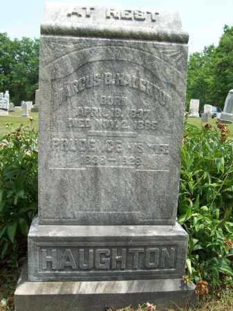 HAUGHTON, PRUDENCE - Trumbull County, Ohio | PRUDENCE HAUGHTON - Ohio Gravestone Photos