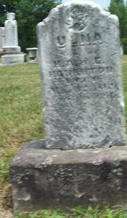 HAUGHTON, ULNA - Trumbull County, Ohio | ULNA HAUGHTON - Ohio Gravestone Photos