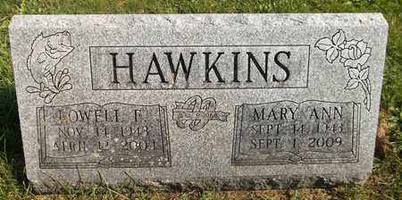 HAWKINS, LOWELL F. - Trumbull County, Ohio | LOWELL F. HAWKINS - Ohio Gravestone Photos