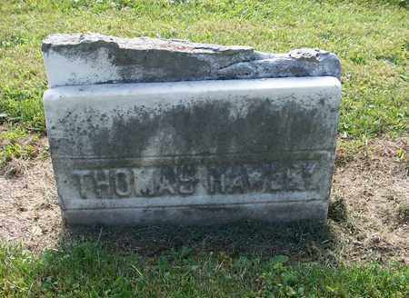 HAWLEY, THOMAS - Trumbull County, Ohio | THOMAS HAWLEY - Ohio Gravestone Photos