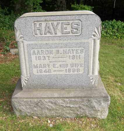 HAYES, MARY E. - Trumbull County, Ohio | MARY E. HAYES - Ohio Gravestone Photos