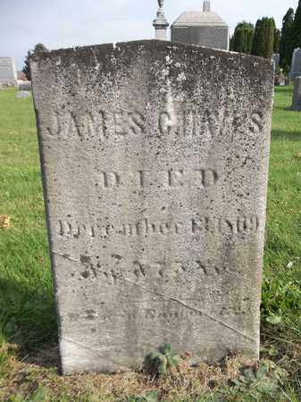HAYES, JAMES C. - Trumbull County, Ohio | JAMES C. HAYES - Ohio Gravestone Photos