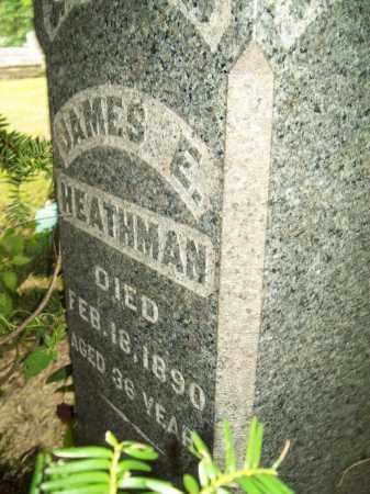 HEATHMAN, JAMES E. - Trumbull County, Ohio | JAMES E. HEATHMAN - Ohio Gravestone Photos