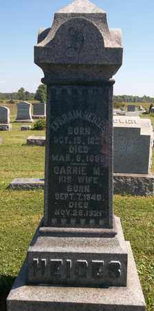 HEIGES, CARRIE M. - Trumbull County, Ohio | CARRIE M. HEIGES - Ohio Gravestone Photos