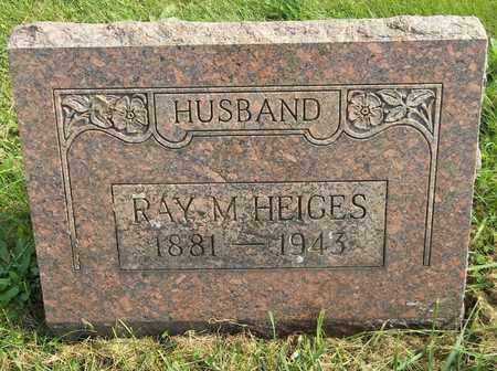 HEIGES, RAY M. - Trumbull County, Ohio | RAY M. HEIGES - Ohio Gravestone Photos