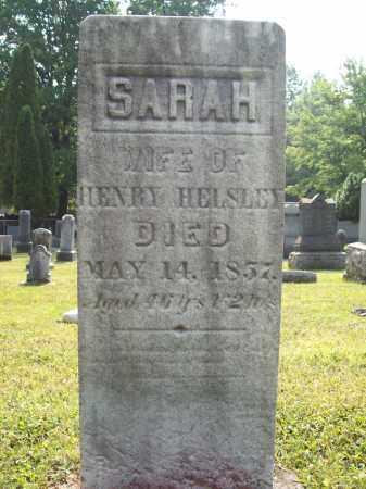 HELSLEY, SARAH - Trumbull County, Ohio | SARAH HELSLEY - Ohio Gravestone Photos