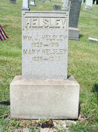 YENSER HELSLEY, MARY - Trumbull County, Ohio | MARY YENSER HELSLEY - Ohio Gravestone Photos