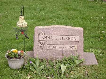 HERRON, ANNA - Trumbull County, Ohio | ANNA HERRON - Ohio Gravestone Photos