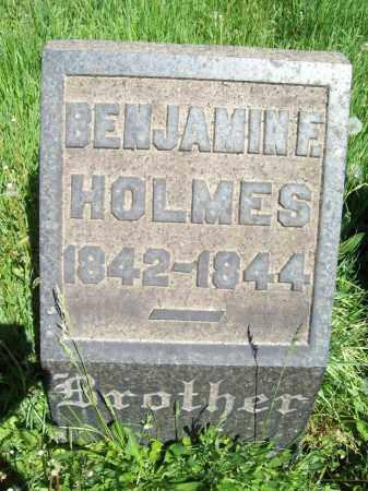 HOLMES, BENJAMIN E. - Trumbull County, Ohio | BENJAMIN E. HOLMES - Ohio Gravestone Photos