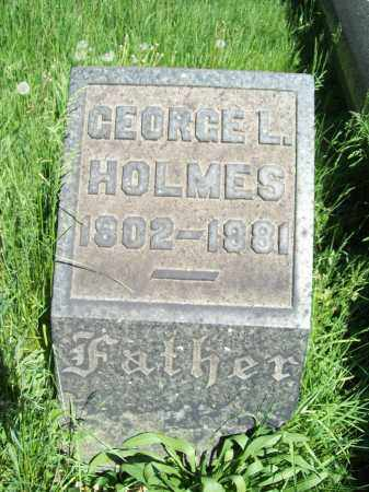 HOLMES, GEORGE L. - Trumbull County, Ohio | GEORGE L. HOLMES - Ohio Gravestone Photos