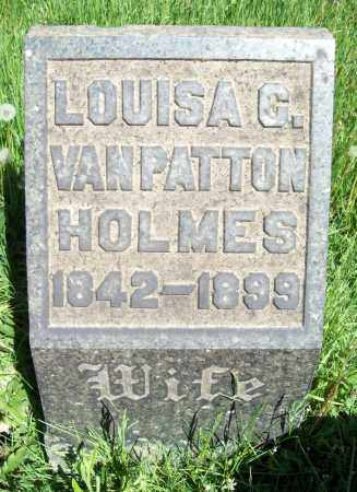 VAN PATTON HOLMES, LOUISA C. - Trumbull County, Ohio | LOUISA C. VAN PATTON HOLMES - Ohio Gravestone Photos
