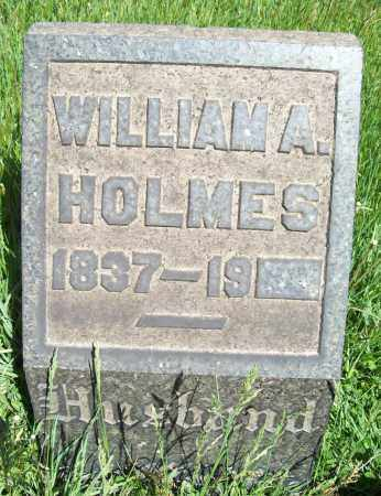 HOLMES, WILLIAM A. - Trumbull County, Ohio | WILLIAM A. HOLMES - Ohio Gravestone Photos