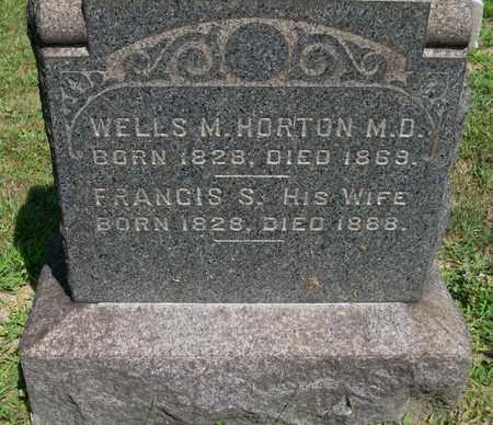 HORTON, FRANCIS S. - Trumbull County, Ohio | FRANCIS S. HORTON - Ohio Gravestone Photos