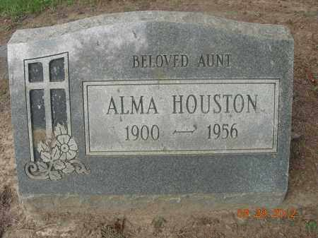 HOUSTON, ALMA - Trumbull County, Ohio | ALMA HOUSTON - Ohio Gravestone Photos