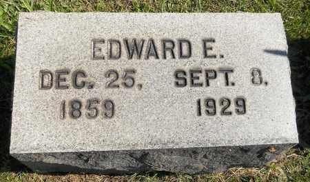 HOWES, EDWARD E. - Trumbull County, Ohio | EDWARD E. HOWES - Ohio Gravestone Photos