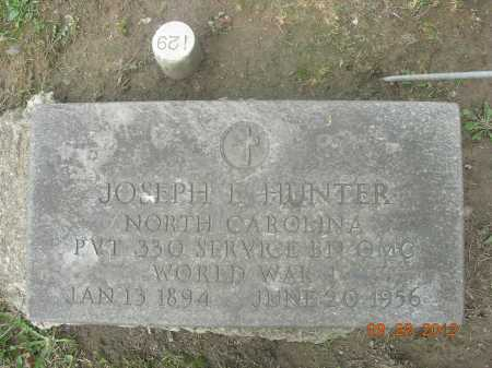 HUNTER, JOSEPH E. - Trumbull County, Ohio | JOSEPH E. HUNTER - Ohio Gravestone Photos