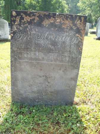 HURD, JOHN - Trumbull County, Ohio | JOHN HURD - Ohio Gravestone Photos