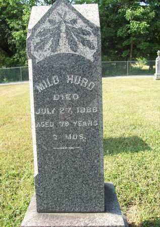 HURD, MILO - Trumbull County, Ohio | MILO HURD - Ohio Gravestone Photos