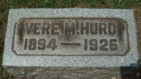 HURD, VERE M. - Trumbull County, Ohio | VERE M. HURD - Ohio Gravestone Photos
