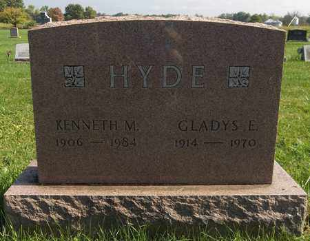 HYDE, KENNETH M. - Trumbull County, Ohio | KENNETH M. HYDE - Ohio Gravestone Photos