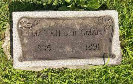 INGHAM, MARIAH S. - Trumbull County, Ohio | MARIAH S. INGHAM - Ohio Gravestone Photos