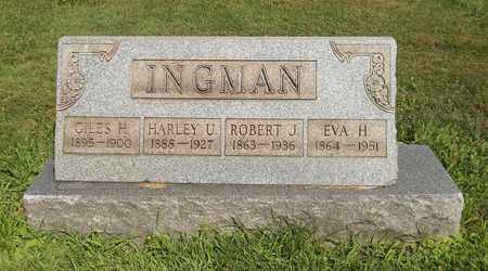 INGMAN, ROBERT J. - Trumbull County, Ohio | ROBERT J. INGMAN - Ohio Gravestone Photos