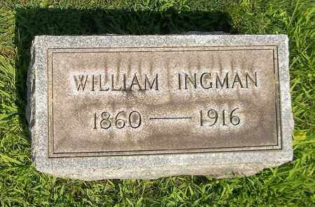 INGMAN, WILLIAM - Trumbull County, Ohio | WILLIAM INGMAN - Ohio Gravestone Photos