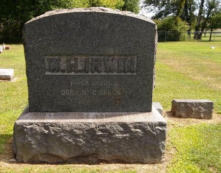 IRWIN, FRANK - Trumbull County, Ohio | FRANK IRWIN - Ohio Gravestone Photos