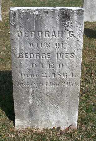 IVES, DEBORAH - Trumbull County, Ohio | DEBORAH IVES - Ohio Gravestone Photos
