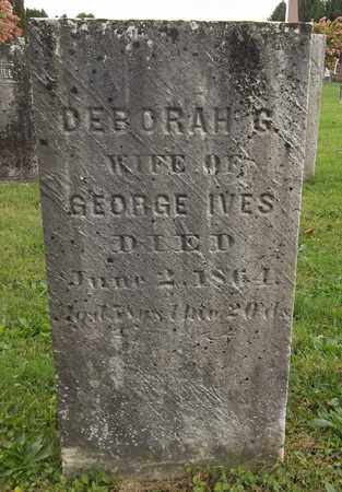 IVES, DEBORAH G. - Trumbull County, Ohio | DEBORAH G. IVES - Ohio Gravestone Photos