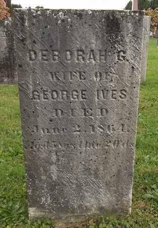 IVES, DEBORAH G. - Trumbull County, Ohio   DEBORAH G. IVES - Ohio Gravestone Photos