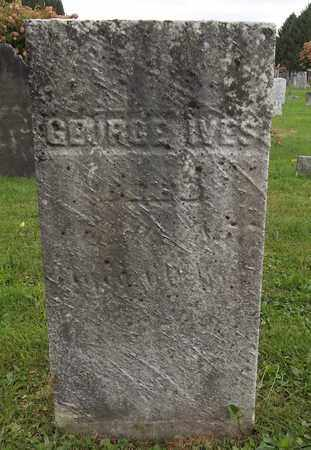 IVES, GEORGE - Trumbull County, Ohio | GEORGE IVES - Ohio Gravestone Photos