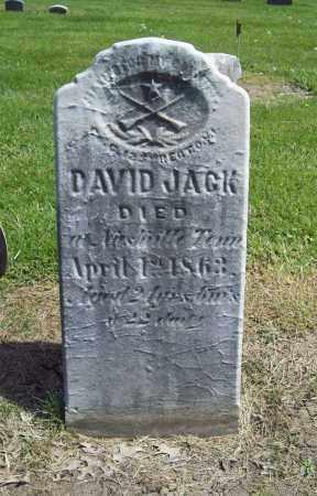 JACK, DAVID - Trumbull County, Ohio | DAVID JACK - Ohio Gravestone Photos