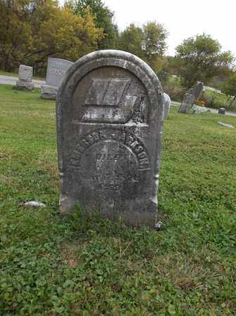 JACKSON, EMERSON - Trumbull County, Ohio | EMERSON JACKSON - Ohio Gravestone Photos